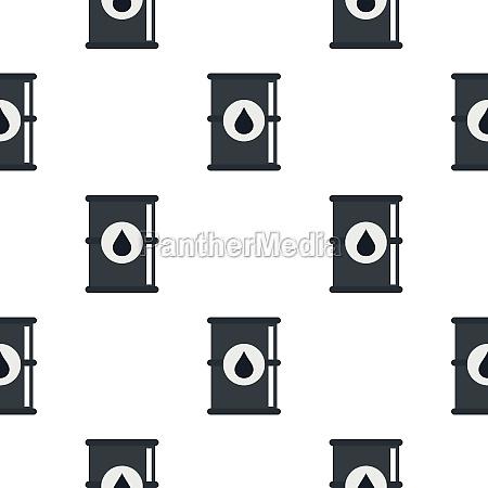 barrel of oil pattern flat