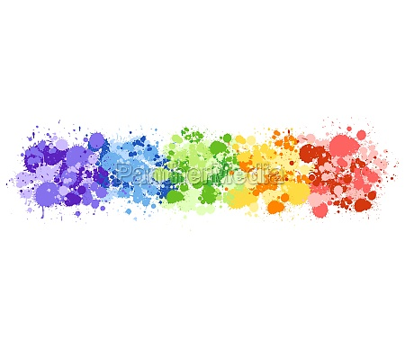 background design with watercolor splash in