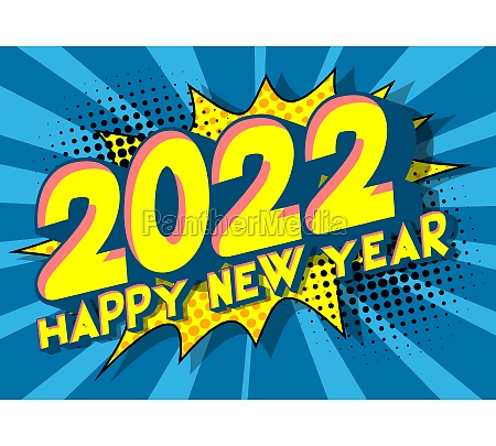 2022 new year greeting card