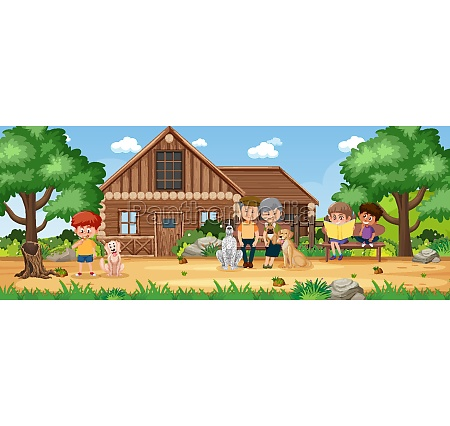 rural countryside home landscape