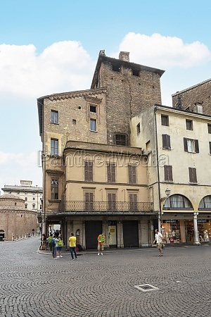 merchants house in mantua italy