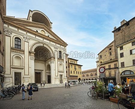 st andrew basilica in mantua italy