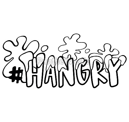 word expression for hangry