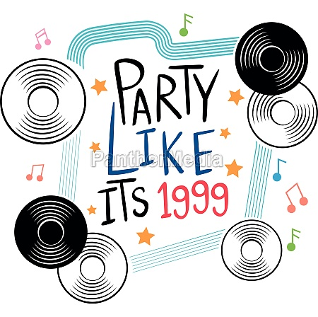 word expression for party like its