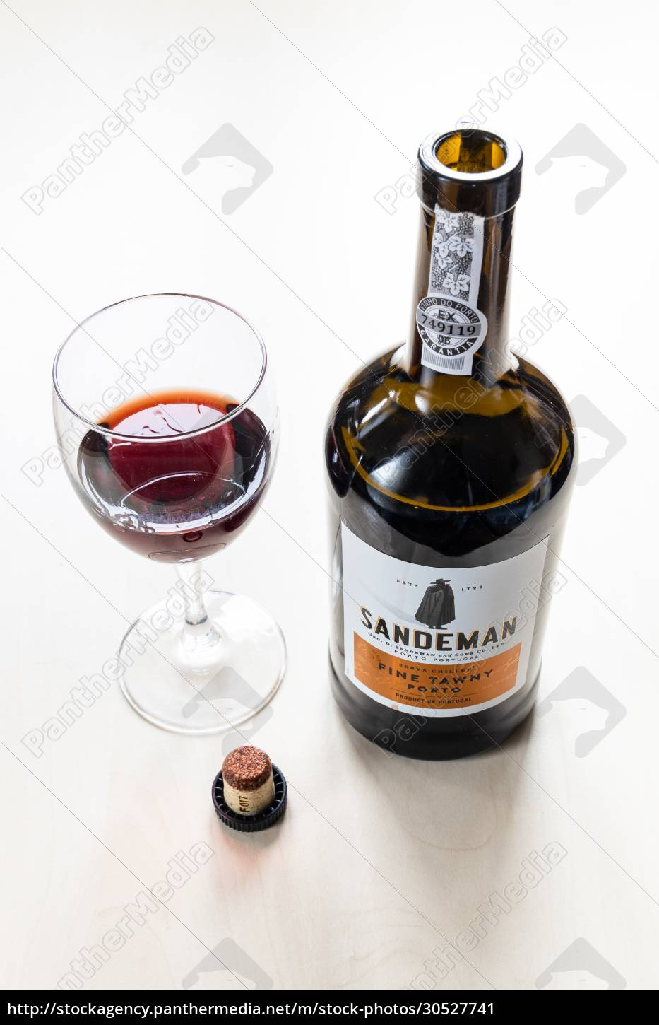 wine, glass, , cork, and, bottle, of - 30527741