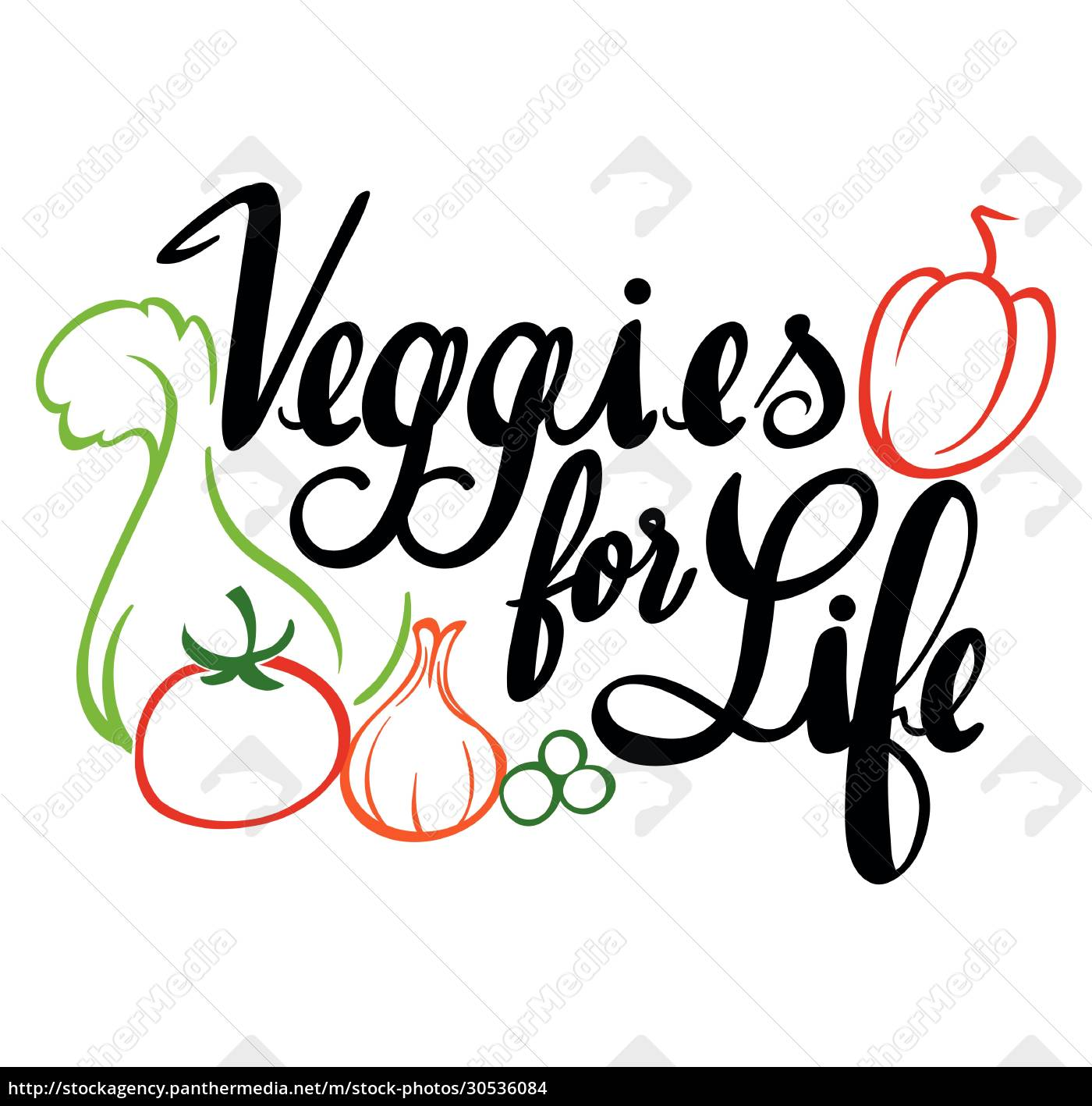 word, expression, for, veggies, for, life - 30536084