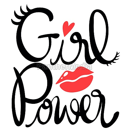 word expression for girl power