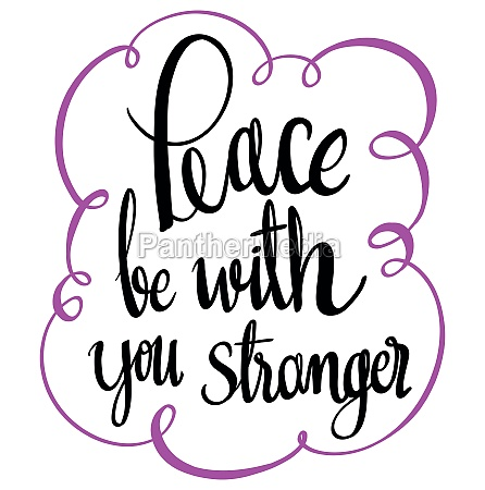 english phrase for peace be with