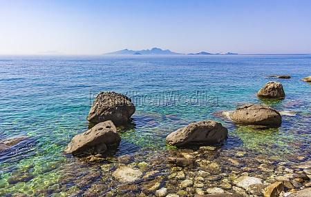 natural coastal landscapes on kos island