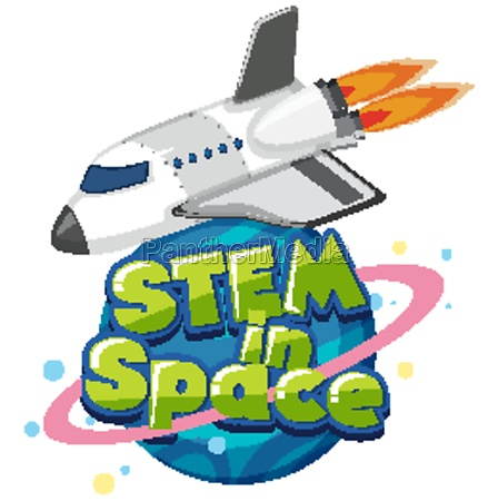 sticker template for word stem in