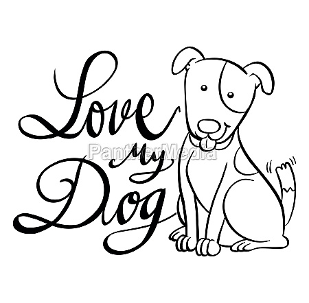 english expression for love my dog