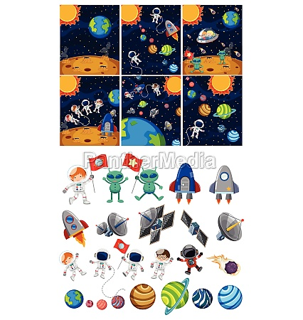 set of space element