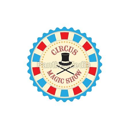 circus element vector design illustration