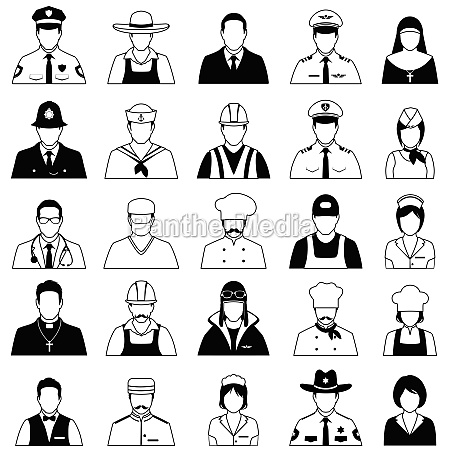 icon workers profession