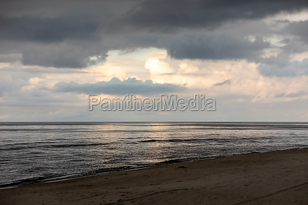 baltic sea on a cloudy day