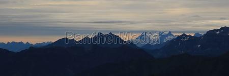 scene seen from mount brienzer rothorn