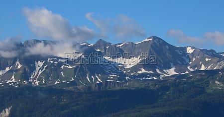 mountains gassenhorn and faulhorn seen from