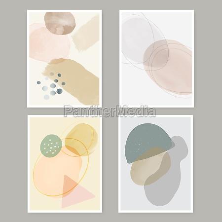 abstract minimal wall art collection 0303