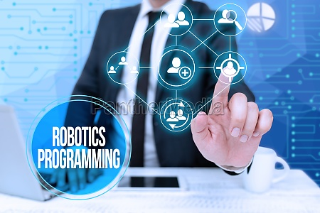 handwriting text robotics programming business idea