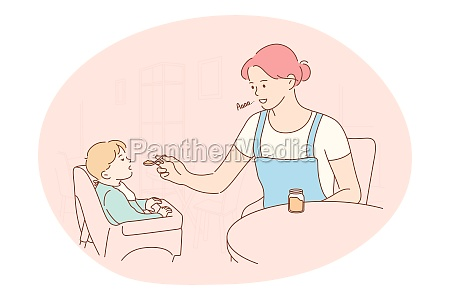 motherhood love of mother parenthood and