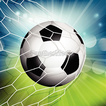 football or soccer goal 2805