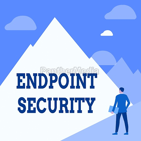 text showing inspiration endpoint security word