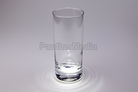 empty glass transparent glass with color