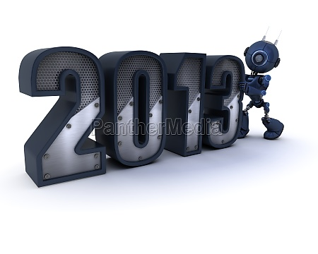 android celebrating new year