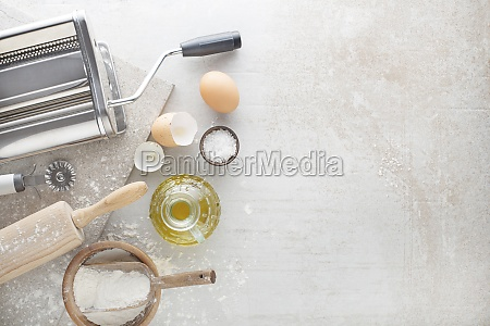 making ravioli pasta
