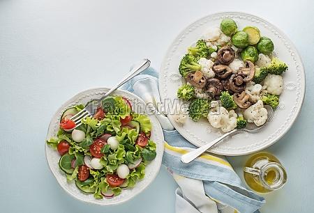 salad vegetable dishes