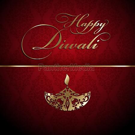 decorative diwali background