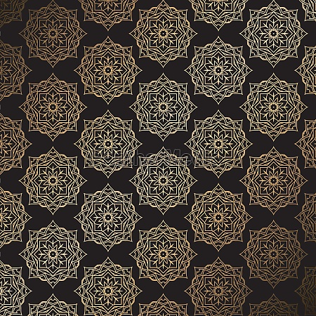 stylish background in gold and black