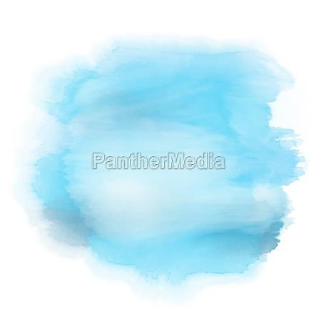 detailed watercolour splat
