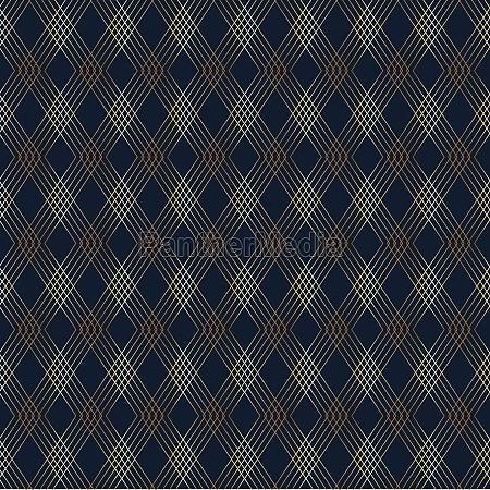 elegant diamond pattern