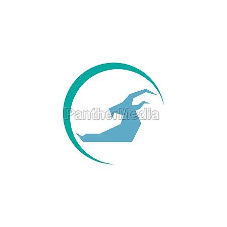 goat icon logo vector design template