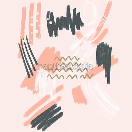 hand painted abstract art design background