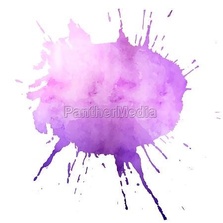 watercolour splatter design