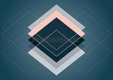 abstract scandinavia style design