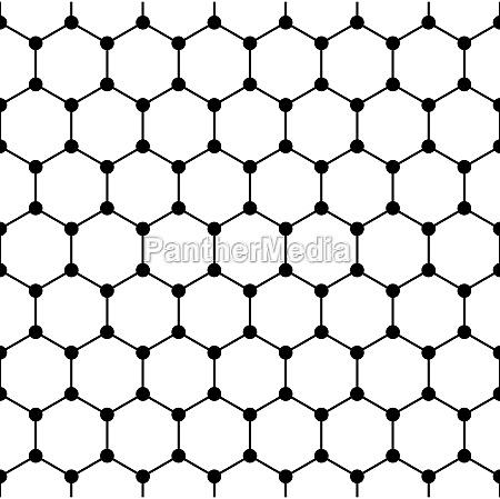 graphene structure seamless tile schematic graphene
