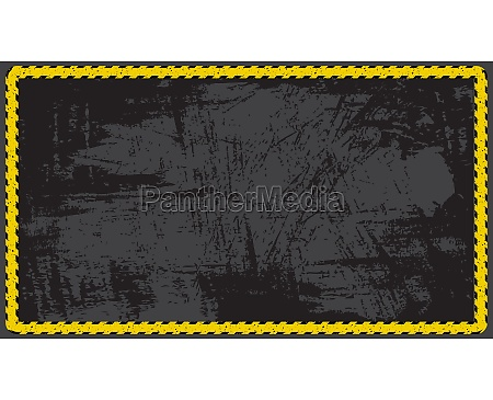 empty background police tape vector illustration