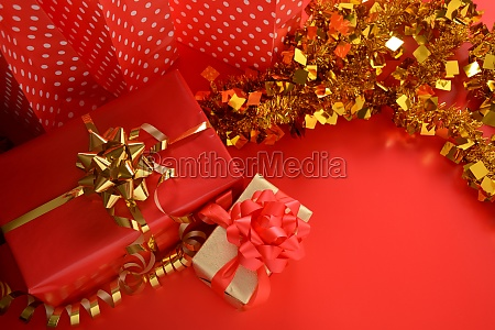new year and christmas gifts greeting