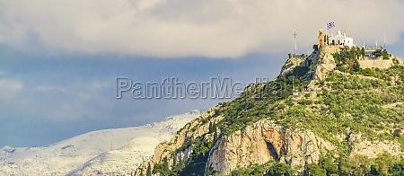 athens aerial landscape greeece