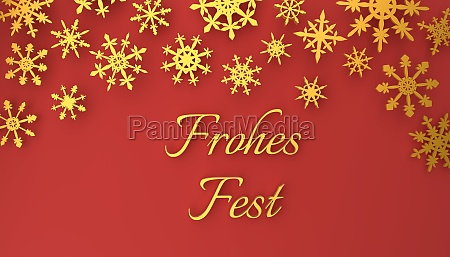 modern german merry christmas background with