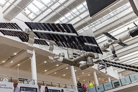 ceiling decoration with satellites in bremen
