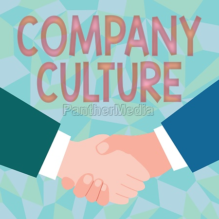 conceptual display company culture business approach
