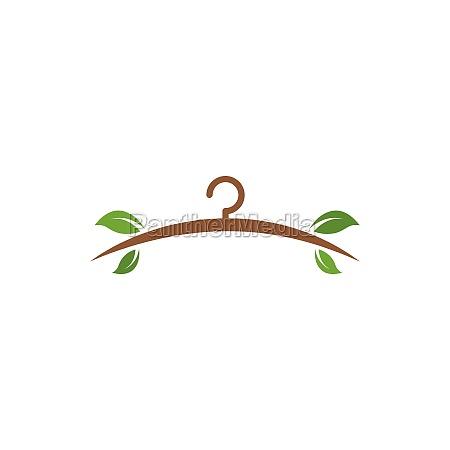 eco hanger icon vector illustration design
