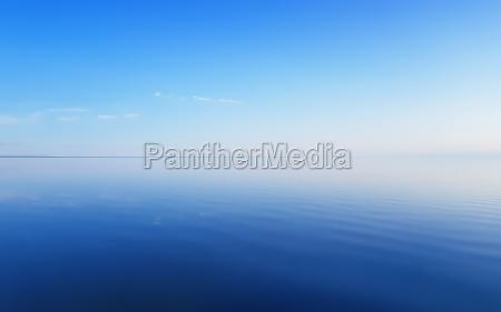 serene summer blue seascape