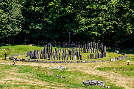 the dacian ruins of sarmizegetusa regia