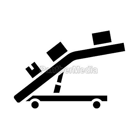 warehouse transportation system icon