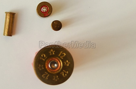 view of used bullets or ammunition